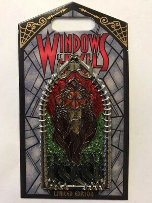Disneyland Disney Park 2018 Windows of Evil Lion King Villain SCAR LE Pin