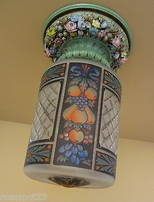 Vintage Lighting 1920s foyer hall light Extraordinary