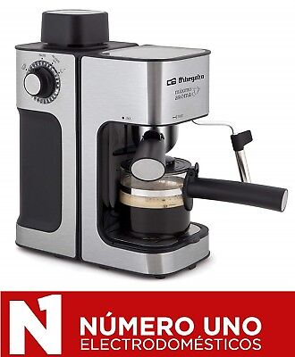 Cafetera Expresso Orbegozo EXP 5000 , Acero Inoxidable, 3.5 Bares