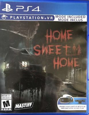 Home Sweet Home PS4 PS VR PSVR Sony Playstation 4 - New Sealed Region Free