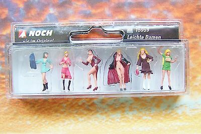 HO scale Noch SIX Ladies of the Night FIGURES # 15959