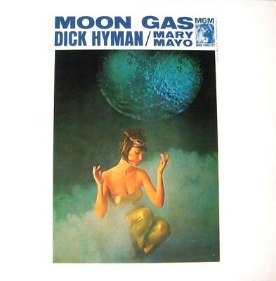Dick Hyman w/ Mary Mayo - Moon Gas - NEW SEALED LP Classic Exotica - MOOG