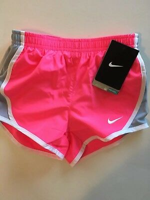 2a2043e7da687 NWT NIKE LITTLE Girls Youth Shorts Size 6 Dri-Fit Running Fitness Fits 5-6  Years