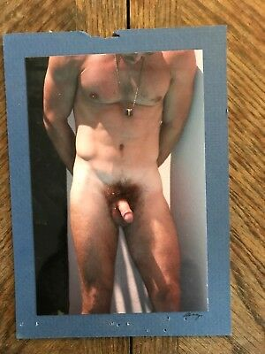 Hot Muscular Twink Mounted Photo - In The Style of Antonio Gray