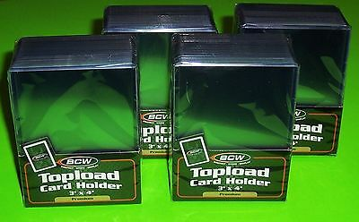 100 3X4 Topload Card Holder - Premium - For Sports/ Trading Cards
