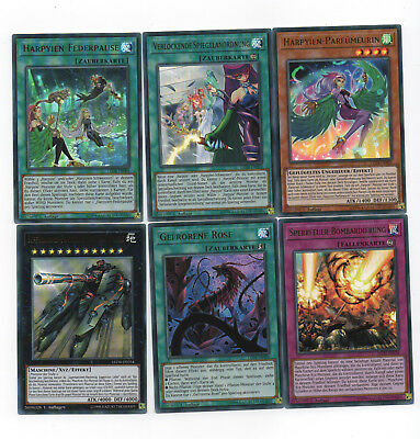 Legendary Duelists Sisters of the Rose (LED4) - Ultra Rare Super Rare Aussuchen