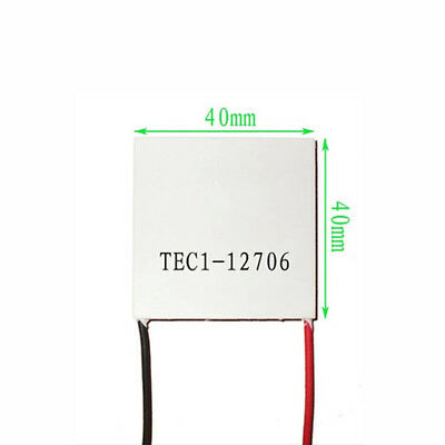 1PC 12V 60W Thermoelectric Cooler TEC Peltier Plate Module TEC1-12706 New US