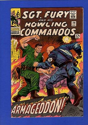 Sgt. Fury And His Howling Commandos #29 Vf/nm 9.0 High Grade Silver Age Marvel