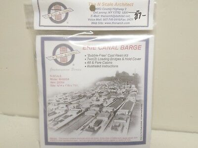 Erie Canal Barge N Scale Architect 20054 Kit Model Railroad Scenery
