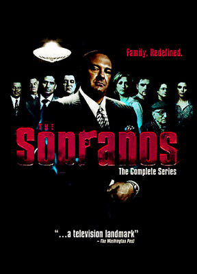 The Sopranos - The Complete Series (DVD, 2014, 30-Disc Set, Box Set) Sealed New