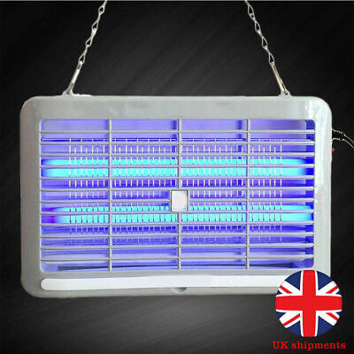 Electric UV Insect Killer Fly Bug Pest Control Zapper Catcher Trap Home LED Lamp