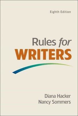 Rules for Writers With Writing About Literature : Tabbed Version, Paperback b...