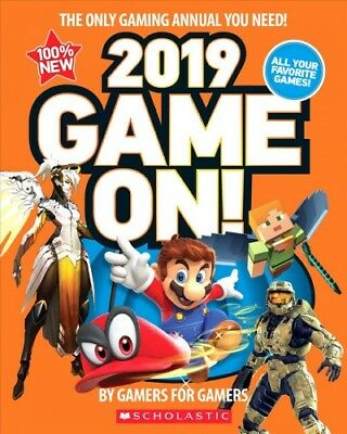 Game On! 2019 : All the Best Games: Awesome Facts and Coolest Secrets, Paperb...