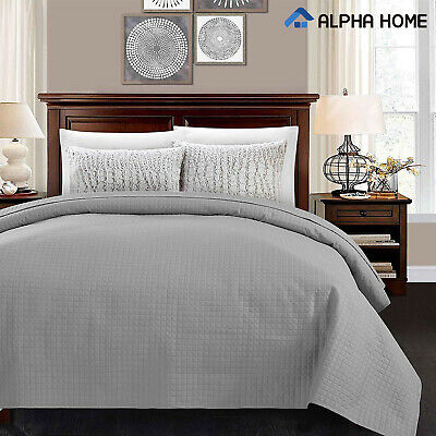 Lightweight Bed Quilt, Classical Pattern Comforter Bedspread Coverlet Blanket