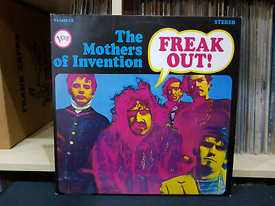 2 Lp The Mothers Of Invention - Frank Out / Mint