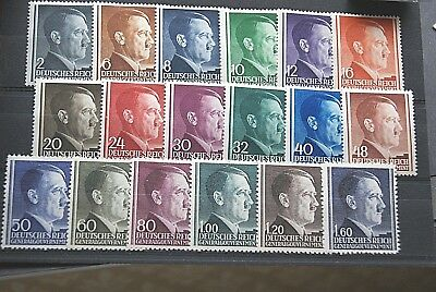 German Stamps. 1941 THIRD REICH OCC. POLAND ISSUES. M/MINT.