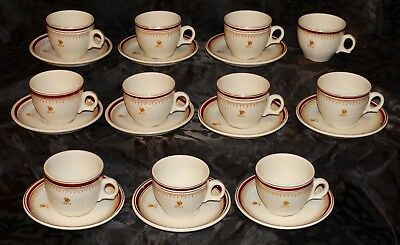 ANSELLS BREWERY LTD:  Royal Doulton 'Steelite' catering cups & saucers. NR!