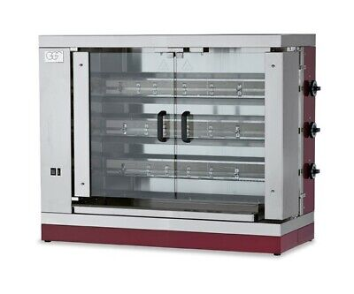 Gas Chicken Grill 1100x480x920 mm, from Stainless Steel