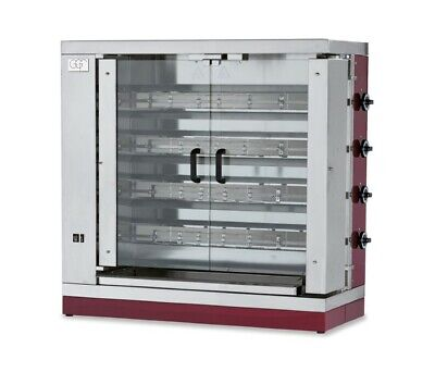 Gas Chicken Grill 1100x480x1100 mm, from Stainless Steel