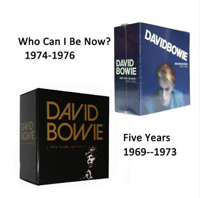 David Bowie Five Years1969-1973 + Who Can I Be Now(1974 To 1976) Total 24 CD