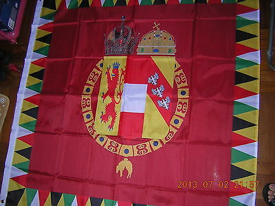 Flag of Imperial Royal Standard of Austria-Hungary 1915-1918 Ensign 120X120 cm
