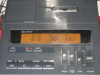 SONY BM-77 Cassette Transcriber with Foot Control FS-75