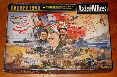 ✈️  Axis & Allies - Europe 1940 - Nouveau - Brand New !!!