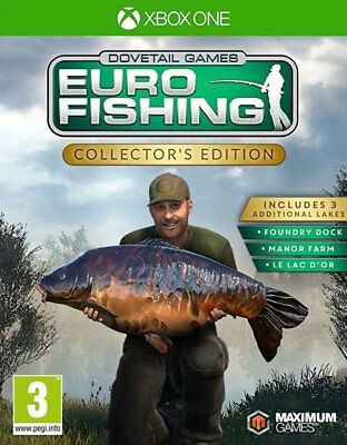 Euro Fishing Collector's Edition (Xbox One)  NEW AND SEALED - QUICK DISPATCH