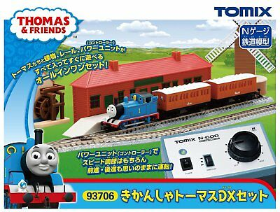 TOMIX N Scale Thomas the Tank Engine DX Set 93706 Model Train Model Set F/S