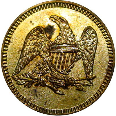 Possible Civil War Sutler Token J K J Eagle