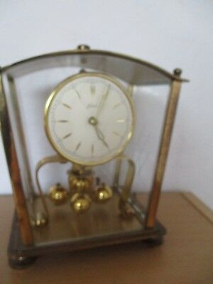 Kern  Four Glass Anniversary Clock 400 Day Torsion  Germany