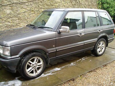 Range rover vogue 2002 converted to coil over suspension