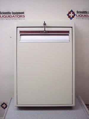 Carstens 6652-00 HALF-A-Roo Security Cabinet - NEW- Almond - Keyed Entry