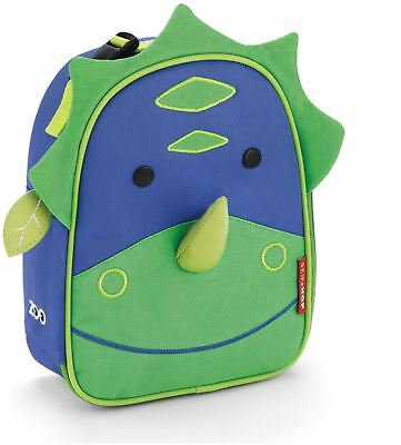 Skip Hop ZOO LUNCHIE INSULATED LUNCH BAG - DINOSAUR Kids Lunch Bags - BN