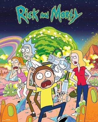 Rick and Morty Mini Poster Group 40x50cm