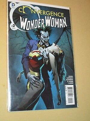Convergence Wonder Woman #2 (DC 2015) Highly Graded Joker Cover