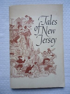 Vintage Book Tales of New Jersey NJ Bell Telephone Company 1963