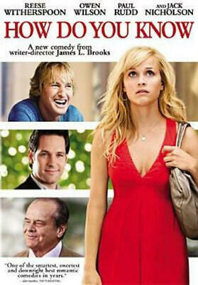 How Do You Know (DVD, 2010) NEW