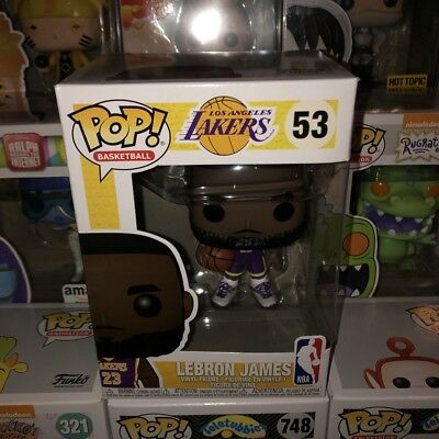 88c4c514329 Funko Pop! Lebron James NBA LA Lakers Purple Jersey Fanatics Exclusive  53