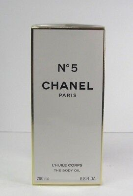 Chanel No 5 L'huile Corps The Body Oil 6.8 oz / 200 ml New In Sealed Box