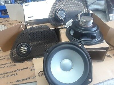 Harley Road Glide Stock 5 Inch Speakers.
