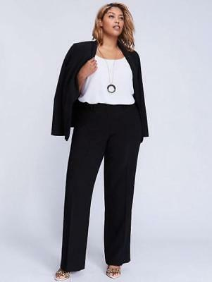 LANE BRYANT ~ NWT! New Plus 26S 26 Short ~ ASHLEY Tailored Stretch T3 Trousers