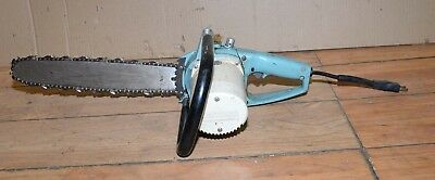"Sears Craftsman 14"" electric chainsaw wood ice carving PN 315.34170 Power-sharp"