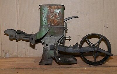 Planet Jr No 25 vintage drill seeder planter  collectible garden tool