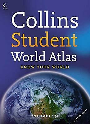Collins Student World Atlas (Collins Atlases), , Used; Good Book