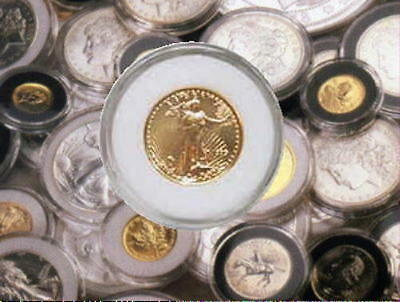 Genuine  AIR-TITE  Protectors for US Gold Eagle 1/10 1/4 1/2 1oz  Gold Coins ``