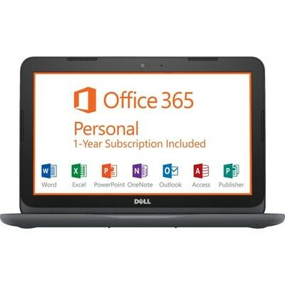 """New Dell Inspiron I3180-A361GRY-PUS 11.6"""" A6-9220e 4GB 32GB Win10 with Office365"""