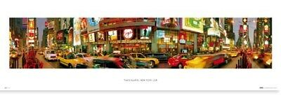 Poster New York City Collection Times Square, New York City, USA 91.5 x 30.5cm