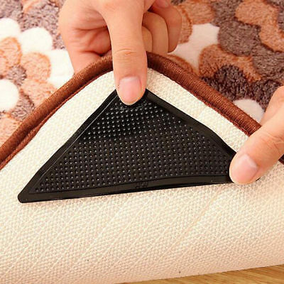 1x Reusable Anti Skid rip Floor Carpet Mat Washable Non Slip Ruggies Rug Gripper