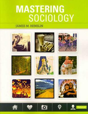 Mastering Sociology (S2PCL) by James M. Henslin (English) Paperback Book Free Sh